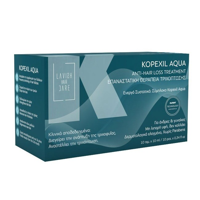 Lavish Care Lavish Care Kopexil Aqua kúra proti padání vlasů 10x10ml