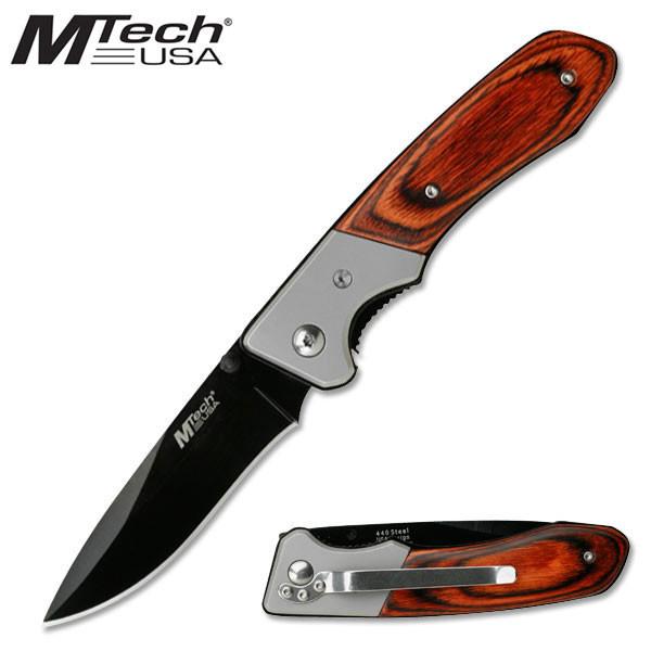 MTech Nůž MTech Folder Black MT-410