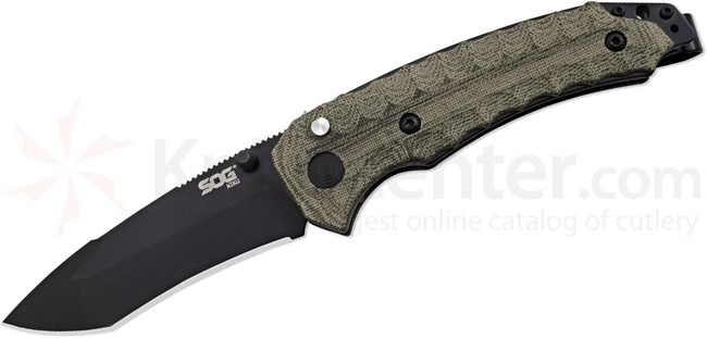 SOG Nůž Sog Kiku - Assisted, VG10 - Black