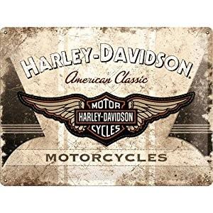 Harley Davidson Plechová cedule – Harley Davidson Motorcycles