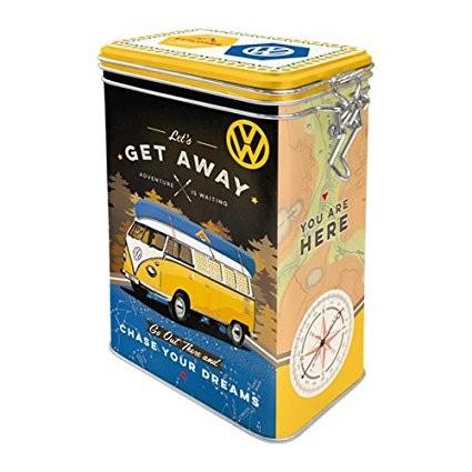 3D pen Plechová dóza - Volkswagen VW Bulli – Let's Get Away