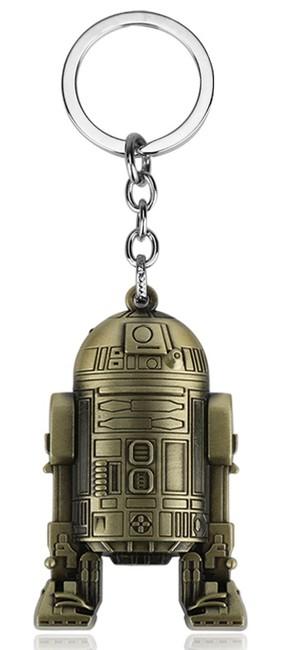 Star Wars Přívěsek na klíče Star Wars Robot R2D2 mosaz