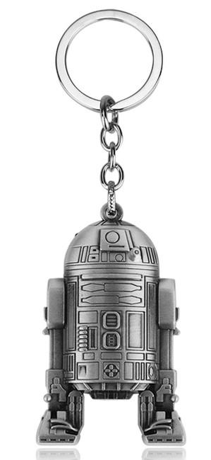 Star Wars Přívěsek na klíče Star Wars Robot R2D2 silver