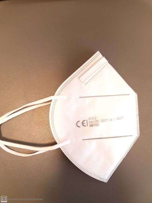 High Life Respirační rouška (respirátor)  FFP2 CE certifikace