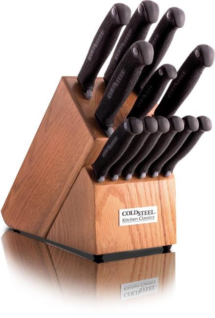 Cold Steel Sada kuchyňských nožů Cold Steel 13 ks 59KSSET