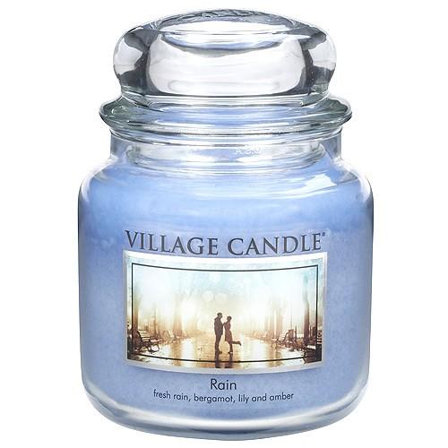 Village Candle Svíčka ve skleněné dóze Village Candle Déšť, 454 g