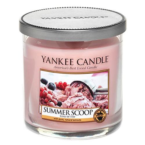 Yankee candle Svíčka ve skleněné dóze Yankee Candle Kopeček letní zmrzliny, 198 g